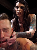 Chelsea Marie,Ruckus - Yes, Mistress: Devoted slave worships hot dominatrix cock!