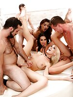 Chad Diamond, Jaxton Wheeler, Gabriel D'Alessandro, Pierce Paris, Chanel Santini, Annabelle Lane, Aubrey Kate, Jessy Dubai