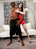 It's that time again folks. Our boy Sean Michael's is back and ready to lay down the cock. Jessy Bell is just fucking great at taking in black dick. This hardcore interracial action packed scene is one for the books. Let's start the weekend just right wit