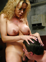 Gia Darling,Wild Bill - Gia Darling and her scrub brush