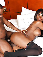 Sexy and beautiful black tgirl Brooke is back for a smoking hot hardcore scene! Brooke has a hot body, big boobs, a delicious cock and a sexy bubble butt ! Watch as Dikem fucks this gorgeous transsexual! Enjoy!