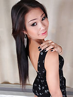 Happy Thanksgiving folks. Today we bring you the Asian beauty New. This girl is simply fucking gorgeous. Our boy Ramon wastes no time getting right to that TS ass. One look at her and you know why. Young and horny she gets just what she wanted, hardcore h
