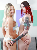 Kayleigh Coxx and Chelsea Marie are a dynamic duo! Such different looks, but both are so damn hot and together they are absolutely fantastic! Especially when you through some dude into the mix and everybody's fucking or sucking somebody, it's incredible!