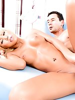 Japanese TS star Miran is a tan, blue-eyed doll with perky tits and a deliciously fit body. She teases in a sheer, fetish-style bikini and Gabriel gives her a passionate blow job. Miran moans when the hung stud pounds her asshole, stroking her stiff she-c