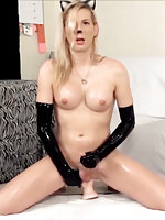 Jamie French in Cocky Kitty