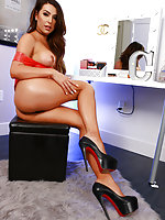Chanel Santini Gets Horny Doing Her Makeup